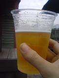 外で飲むビールは、うまいo(^-^)o