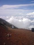 プロメテウス火山8合目