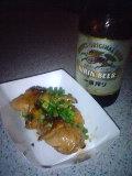 温かい「鶏の照り焼き」