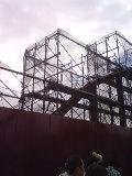 ハドソンリバーブリッジさらに工事進行中