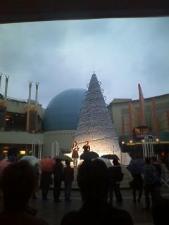 イクスピアリのクリスマスツリー