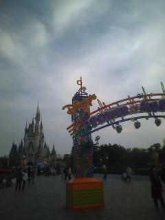 日曜日な東京ディズニーランド