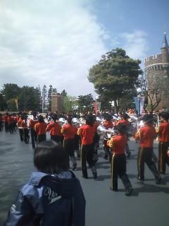 浦和学院高等学校の吹奏楽部のみなさん