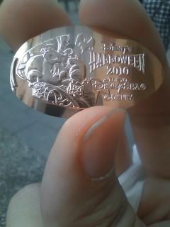 ハロウィンなスーベニアメダル
