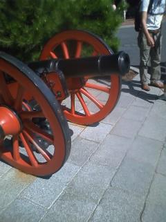 大砲ダッフィー