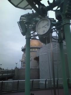 意外と気づかないポートディスカバリーの時計