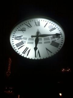 意外と気づかないアメリカンウォーターフロントの時計