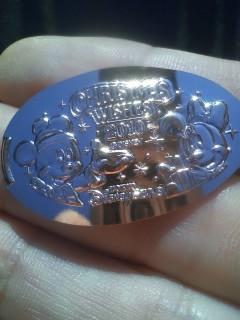 クリスマス・ウィッシュのスーベニアメダル